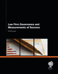 Law Firm Governance and Measurements of Success