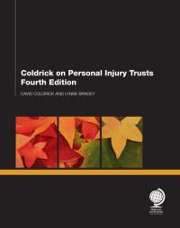 Coldrick on Personal Injury Trusts