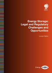 Energy Storage: Legal and Regulatory Challenges and Opportunities